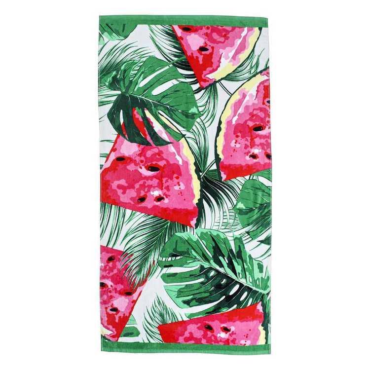 Logan Amp Mason Watermelon Beach Towel