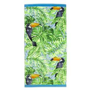 Logan & Mason Toucan Beach Towel