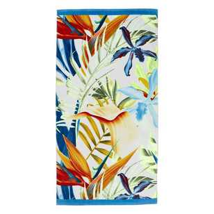 Logan & Mason Maui Tropic Beach Towel