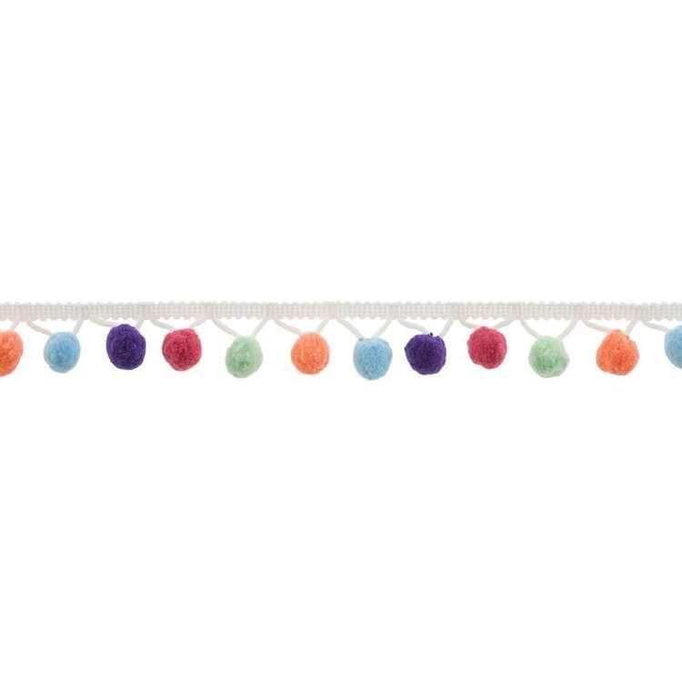 Simplicity 5 Colour Pom Pom Fringe