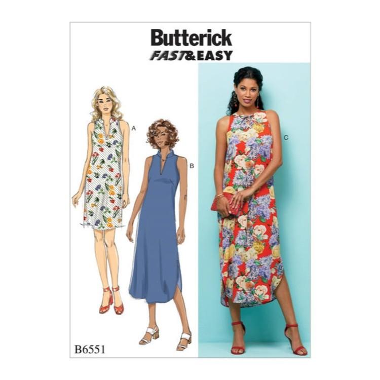 Butterick Pattern B6551 Misses' Dress