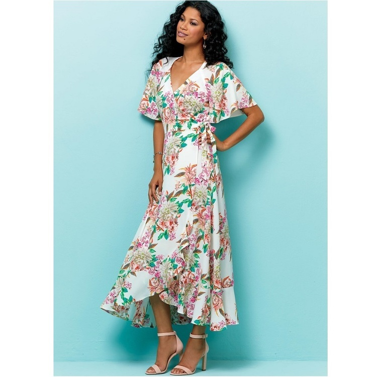 Butterick Pattern B6554 Misses' Wrap Dress