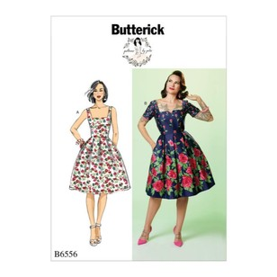 Butterick Pattern B6556 Patterns By Gertie Misses' Dress
