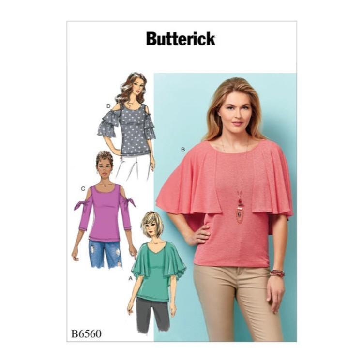 Butterick Pattern B6560 Misses' Top