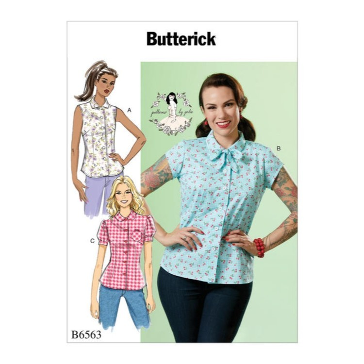 Butterick Pattern B6563 Patterns By Gertie Misses' Top