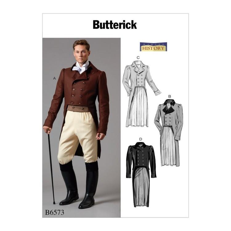 Butterick Pattern B6573 Making History Men's Jacket