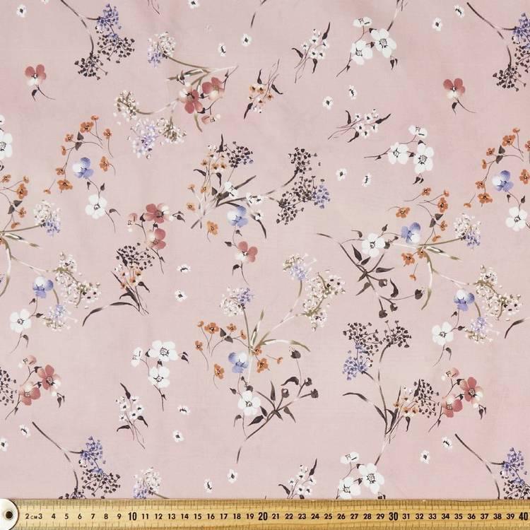 Springtime Printed Rayon Fabric
