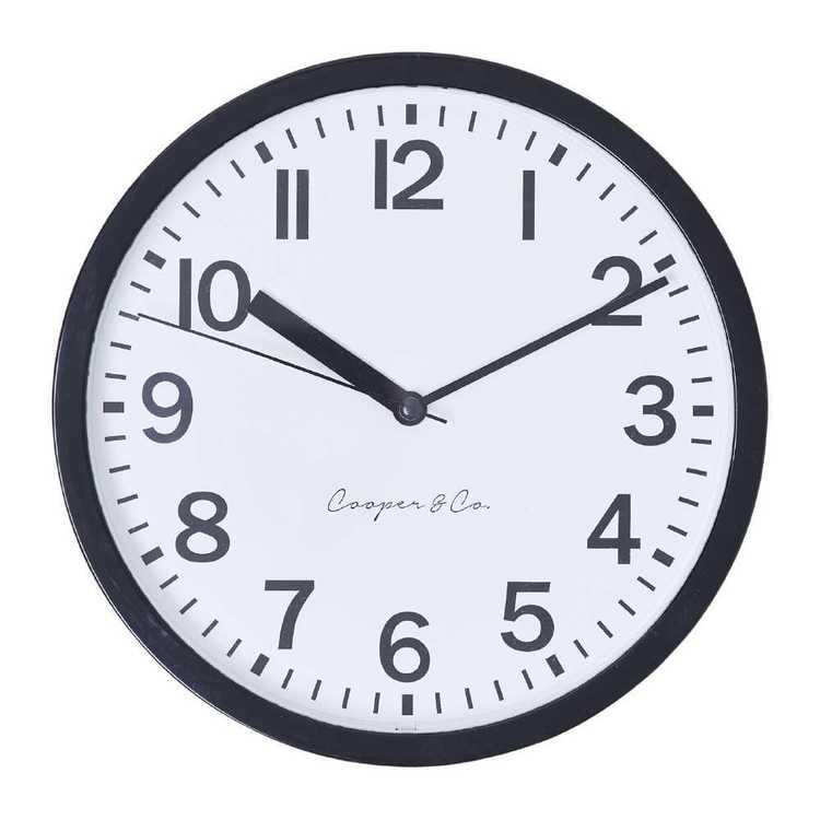 Cooper & Co Core Clock