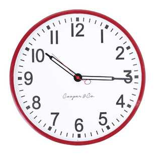 Cooper & Co Sleek Wall Clock