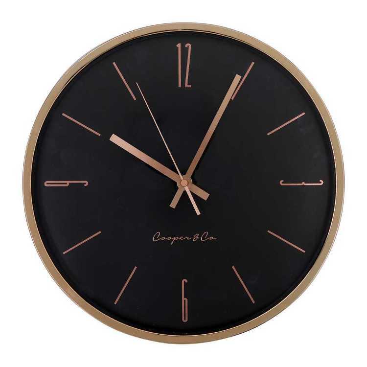 Cooper & Co Slick Clock