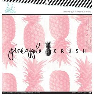Heidi Swapp Pineapple Crush Paper Pad