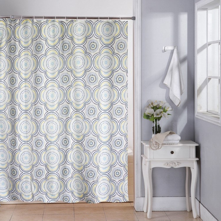 Cloud 9 Boho Shower Curtain Boho