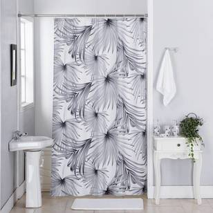 Cloud 9 Palm Leaf Shower Curtain