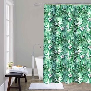 Cloud 9 Rainforest Shower Curtain
