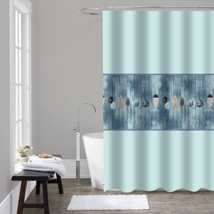 Cloud 9 Seaside Shower Curtain