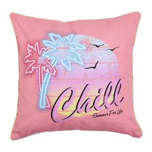 Ombre Home Neon Tropics Maya Sum Chill Cushion