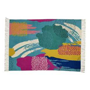 Ombre Home Neon Tropics Maya Abstract Rug