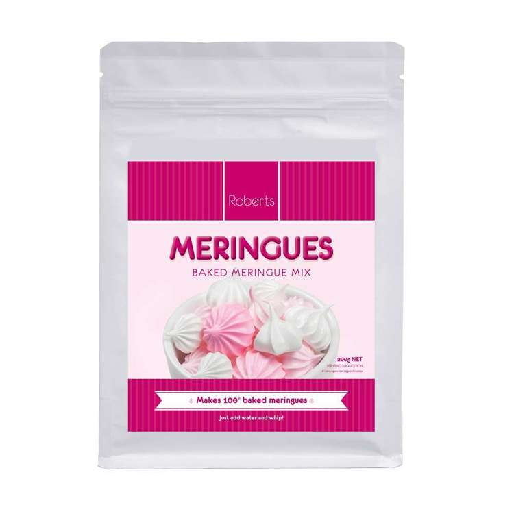 Roberts Edible Craft Meringue Mix Multicoloured 200 g