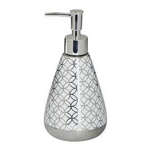 KOO Metallic Geo Soap Dispenser