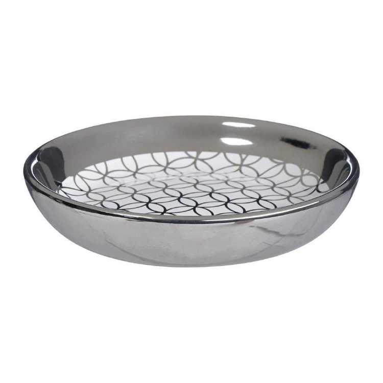 KOO Metallic Geo Soap Dish