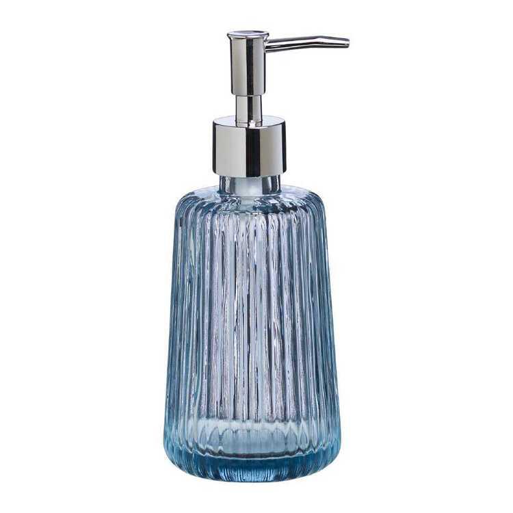 KOO Ribbed Glass Soap Dispenser