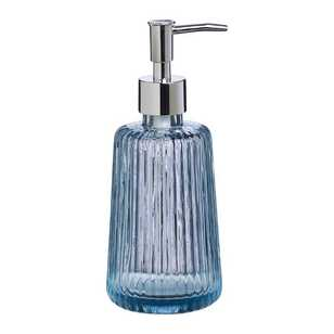 KOO Ribbed Glass Soap Dispenser