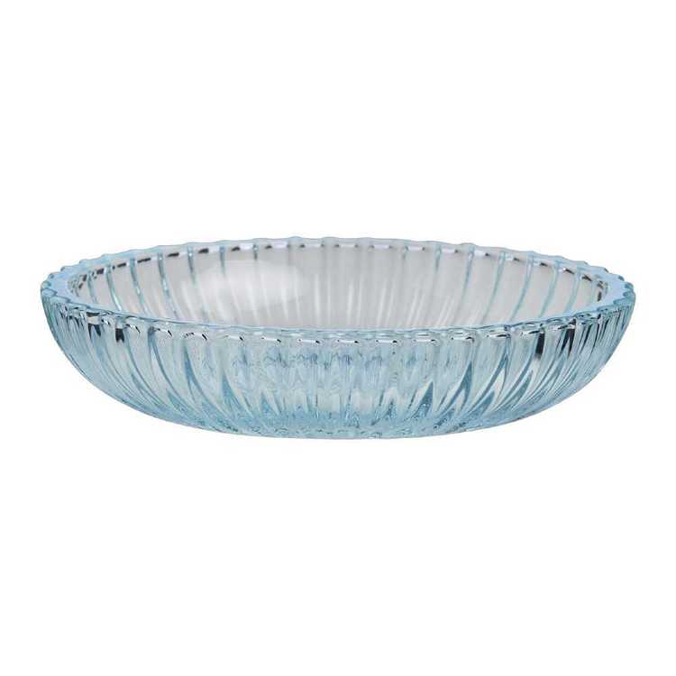 KOO Ribbed Glass Tray