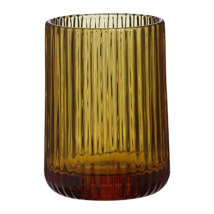 KOO Ribbed Glass Tumbler