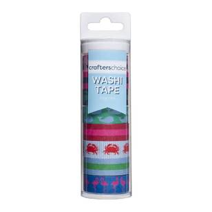 Crafters Choice Preppy Washi Tape Value Tube