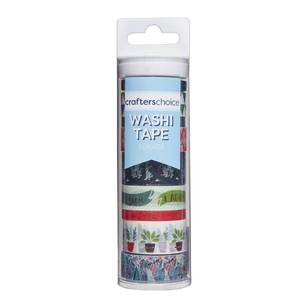 Crafters Choice Foliage Washi Tape Value Tube