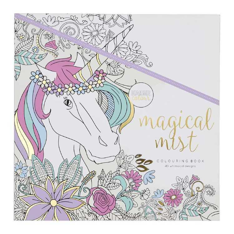 Kaisercraft Kaisercolour Magical Mist Colouring Book