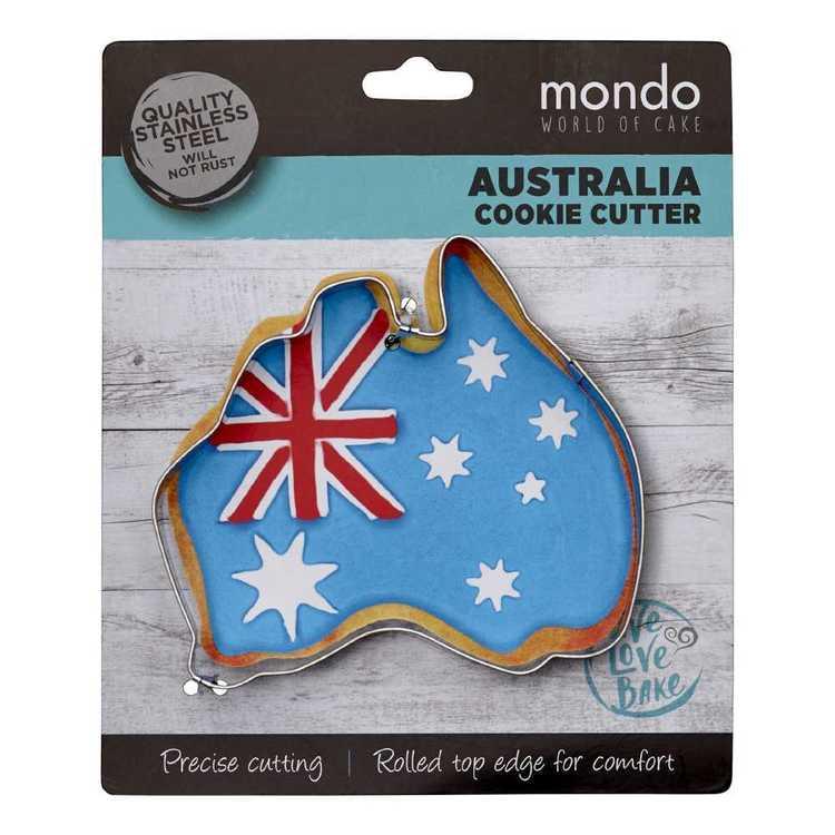 Mondo Map of Australia Cookie Cutter