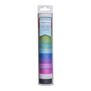 Crafters Choice Glitzy Washi Tape Value Tube