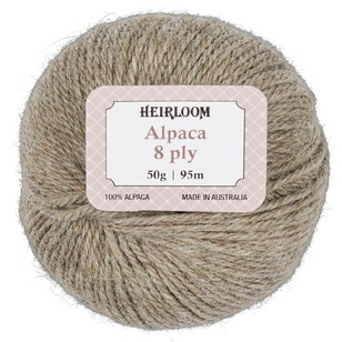 Heirloom Pure Alpaca Wool 8 Ply Yarn