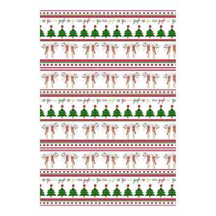Living Space Festive Get Your Jingle On Tea Towels 3 Pack