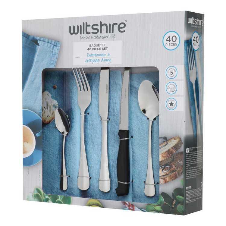 Wiltshire Baguette 40 Piece Cutlery Set