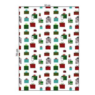 Living Space Festive Meowy Christmas Tea Towels 3 Pack