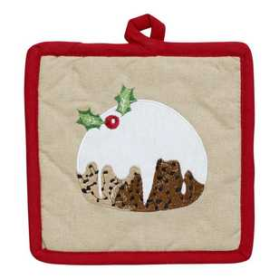 Living Space Festive Pudding Pot Holder