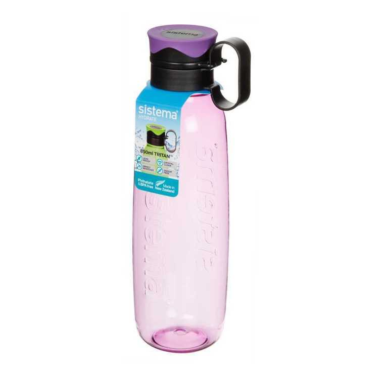 Sistema Lunch & Hydration Traverse Dark Bottle