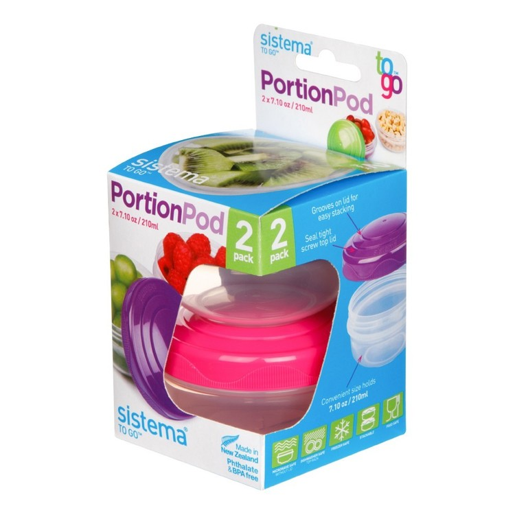 Sistema To Go Pack of 2 Portion Pod
