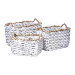 Rustica Set of 3 Baskets