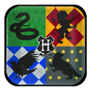 Harry Potter 9 Inch Square Plates