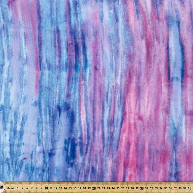 Printed Rayon Sky Fabric