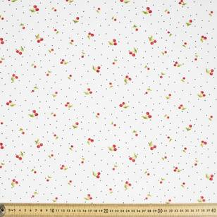 Mix N Match TC Cherry Spot Fabric