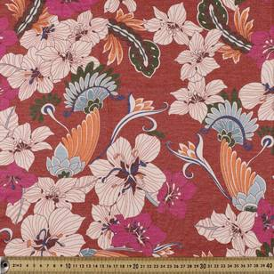 Garden #5 Printed Rayon Knit Fabric