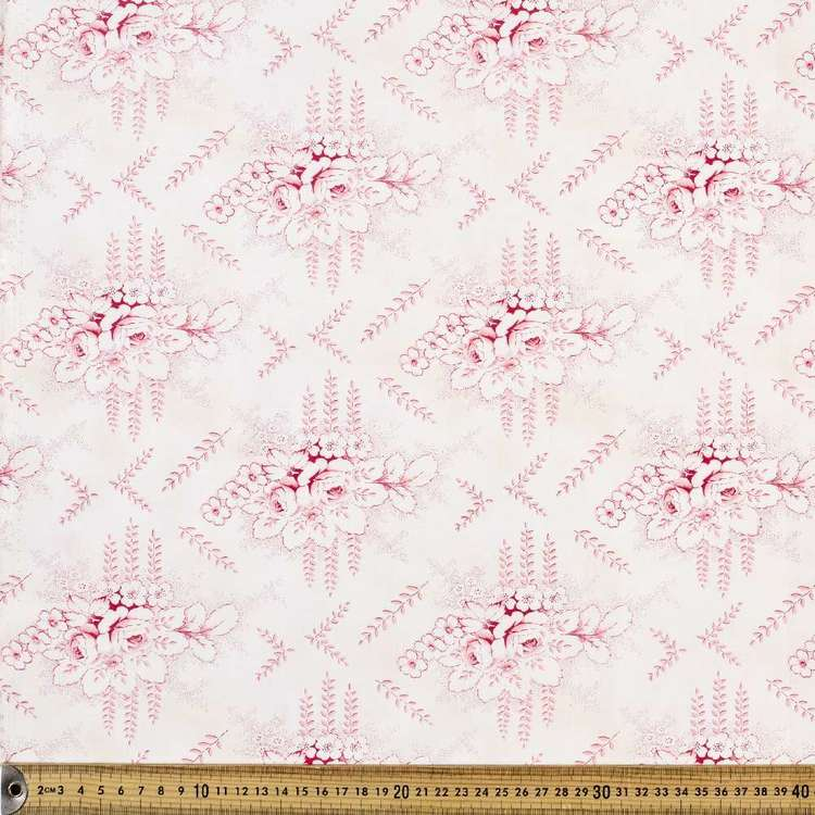 Mississippi Toile Quilting Fabric
