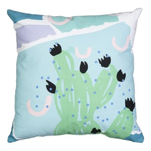 Mode Flat Abstract Cactus Cushion