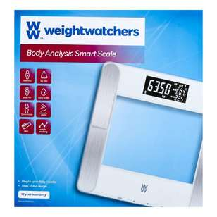 Weight Watchers Body Analysis Smart Bathroom Scale