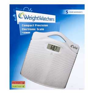 Weight Watchers Digital Body Weight Bathroom Scale