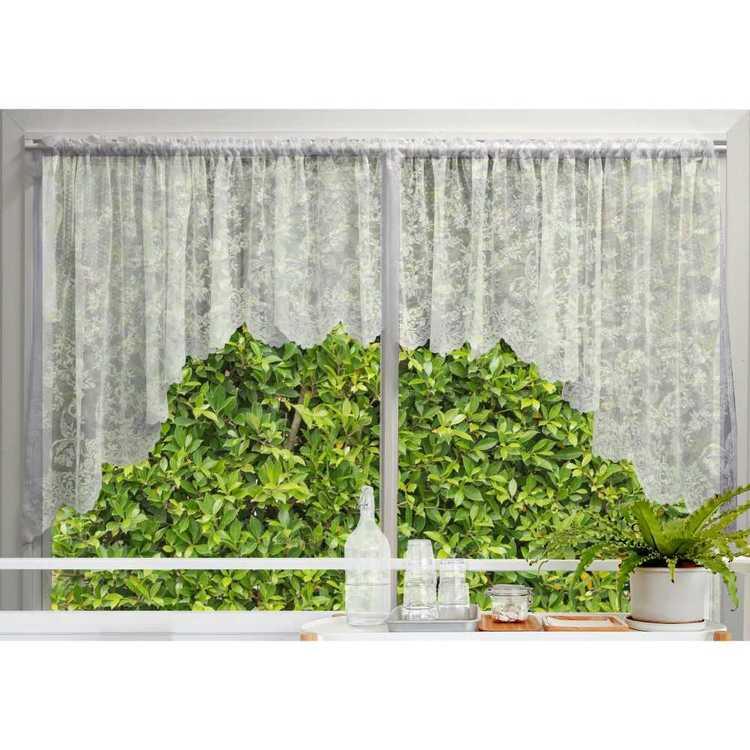 Filigree Victoria Jardiniere Sheer Curtain